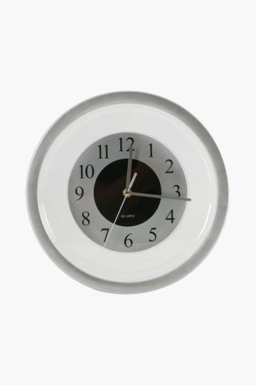 Matt Silver Clock