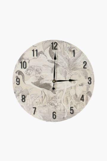 Tahitti Wall Clock
