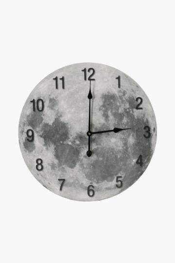 Moon Paper Wall Clock