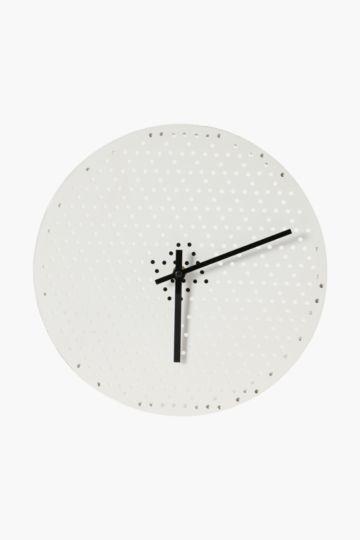 Dotty Wall Clock, 30cm