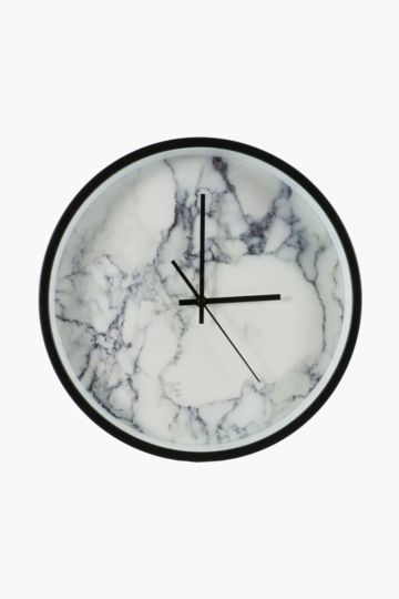 Plastic Marble Wall Clock