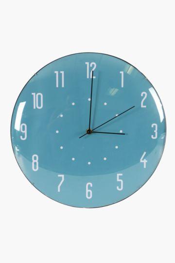 Plastic Dome Wall Clock