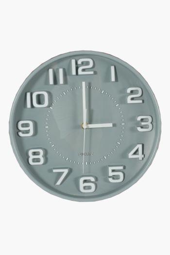 3d Numbers Clock