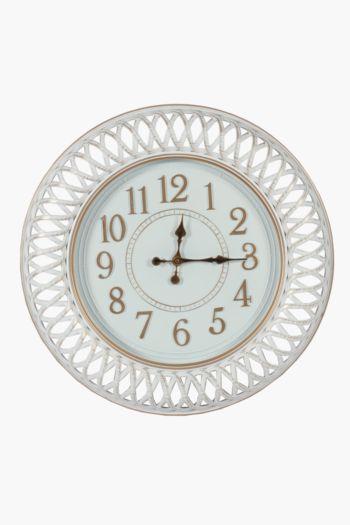 Classic Woven Clock, 60cm