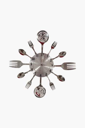 Fork Spoon And Ladle Clock