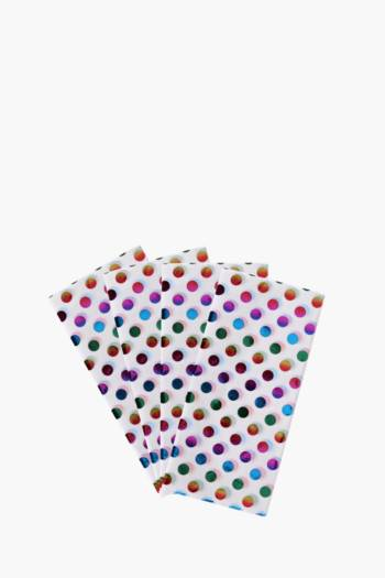 Rainbow Polka Dot Tissue Paper