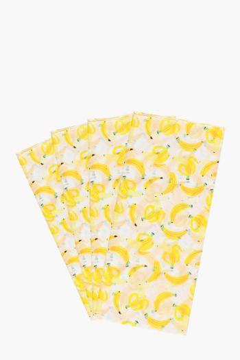 Banana Print Tissue Paper