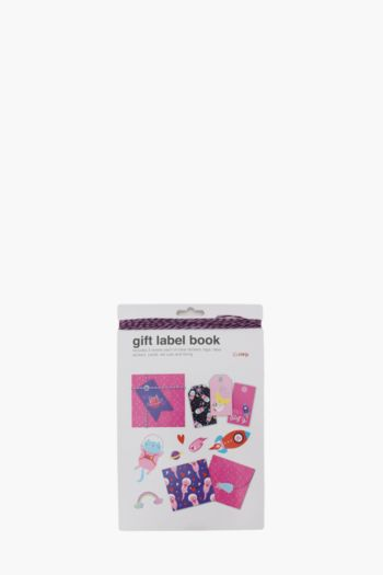 Out Of Space Gift Label Book