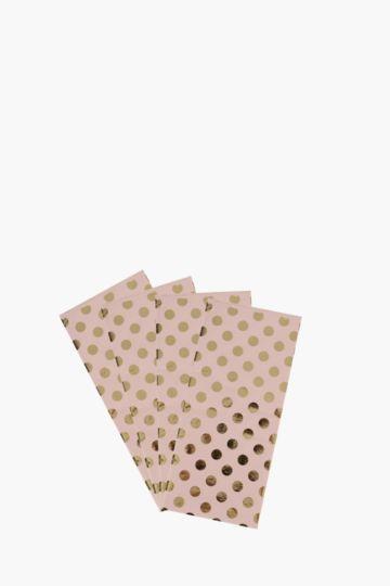 Polka Dot Print Tissue Paper