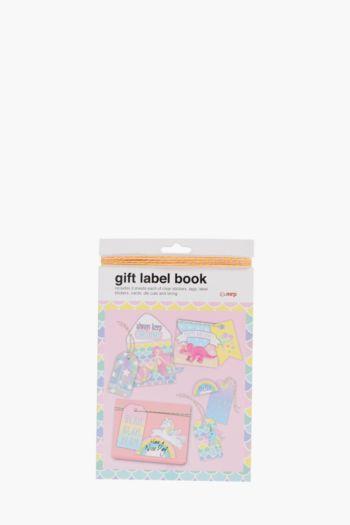 Magic Gift Label Book