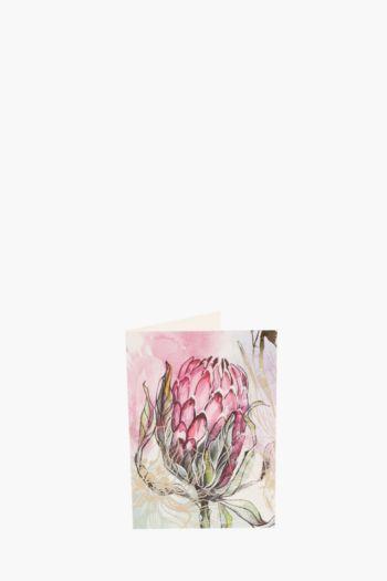 Pretty Protea Gift Card A6