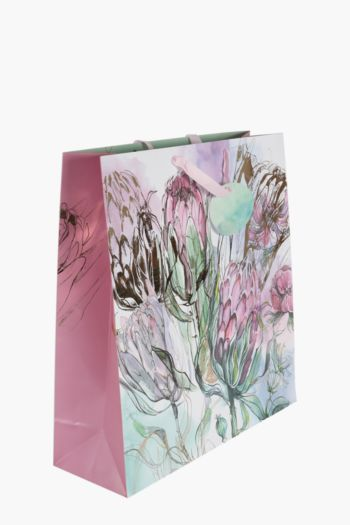 Pretty Protea Gift Bag Extra Large