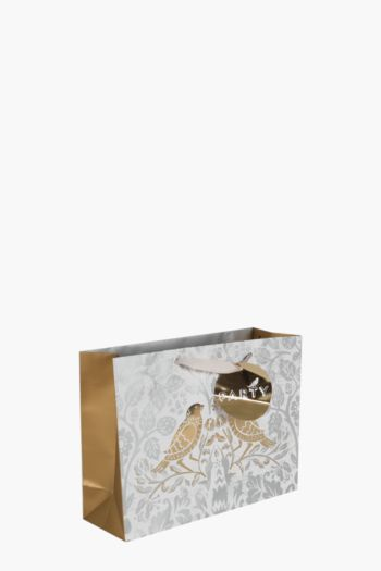Floral Birds Gift Bag Medium