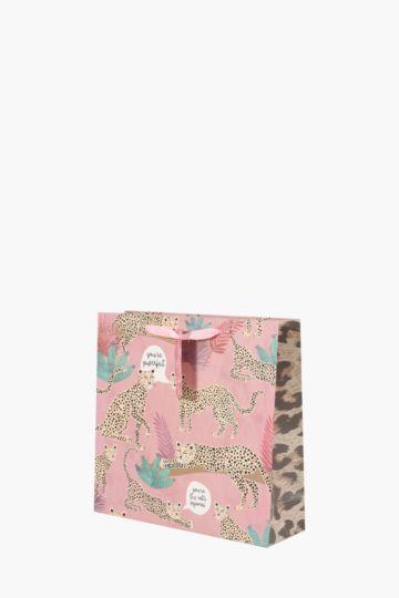 Leopard Print Gift Bag Medium