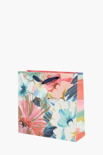 Angelica Florals Print Gift Bag Medium