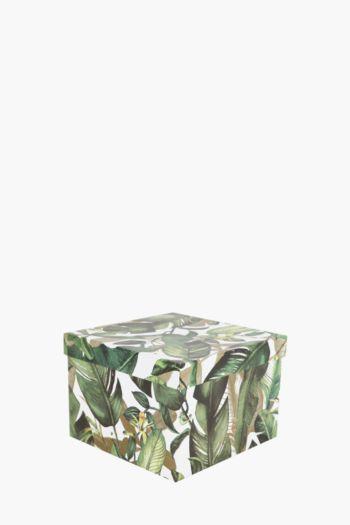 Panther Botanical Printed Gift Box Medium