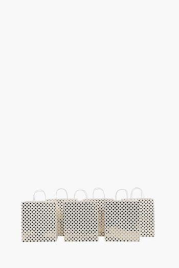 6 Pack Foil Gift Bags Medium