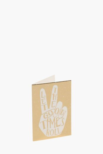Let The Good Times Roll Gift Card Mini