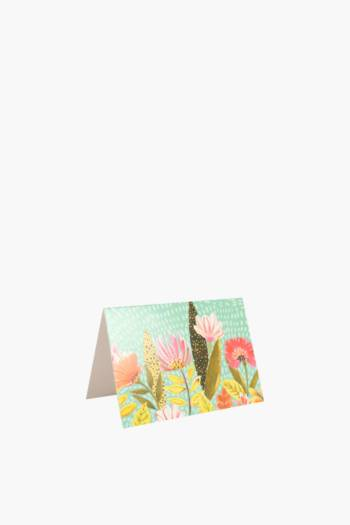 Brights Floral Gift Card Mini
