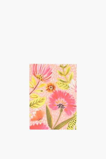 Bright Floral Gift Card A6