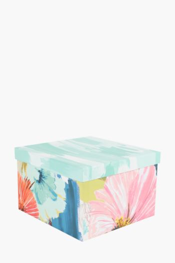 Angelica Floral Printed Gift Box Large