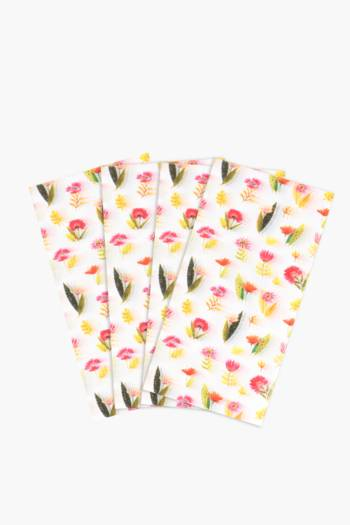 Brights Floral Printed Tissue Paper