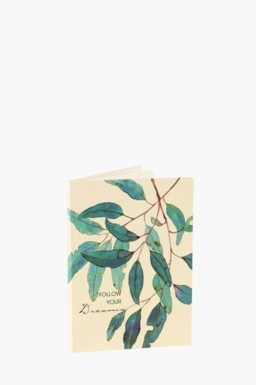 Leaf Sticky Notes Pad