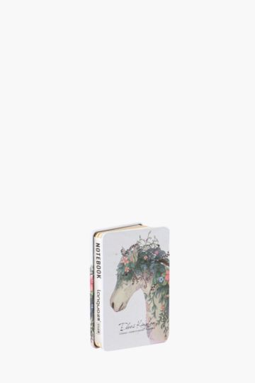 Tin Notebook With Horse