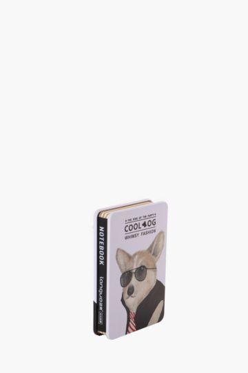 Tin Notebook Corgi
