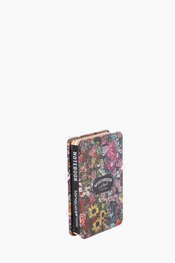Tin Notebook Flower Power