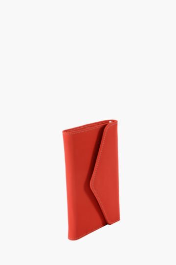 Pu Wallet Notebook