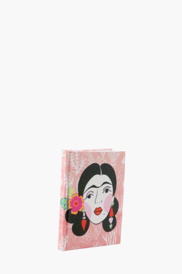 Calavera Mexican Lady Notebook A6