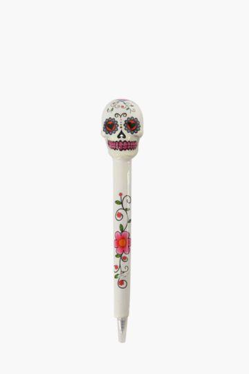 Calavera Sugar Skull Pen