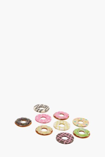 9 Pack Donut Stickers