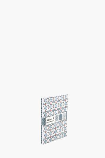 Set Of 3 Rimini Notebooks