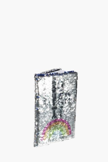 Sequin Rainbow Notebook A5