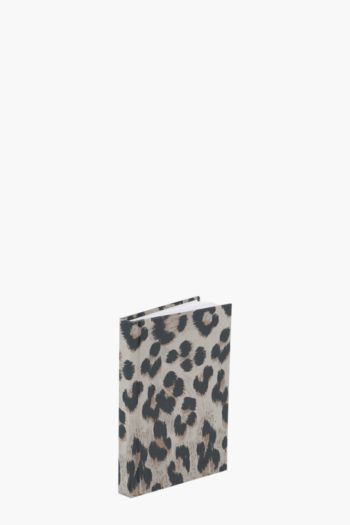 Leopard Print Notebook A6
