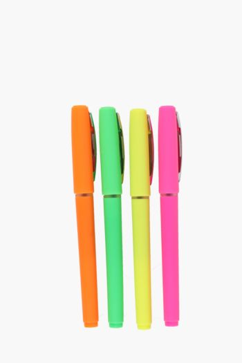Pack Of 4 Gel Pens