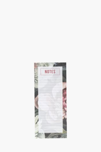 Fresh Florals Magnetic Note Pad