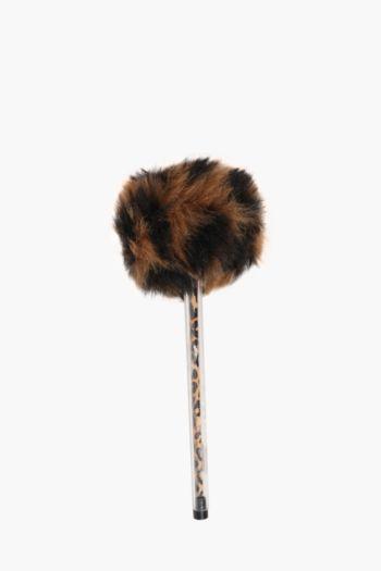 Leopard Fluffy Pen