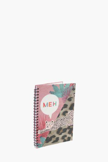 Leopard Notebook A4
