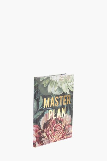 Master Plan Notebook A4