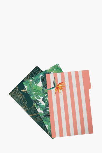 3 Pack A4 Floral Folders