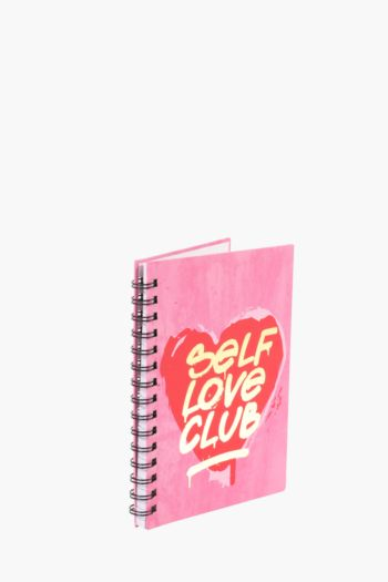Self Love Club Notebook A5