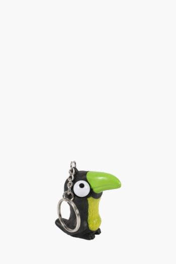 Toucan Pop Eye Key Ring