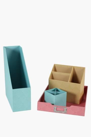 4 Piece Office Storage Set