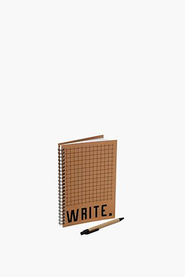 Spiral Write Notebook With Pen A5
