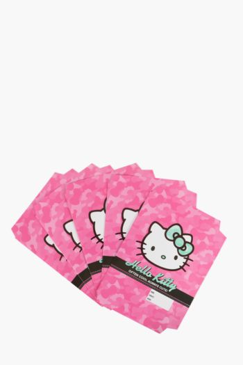 Pack Of 5 Hello Kitty A4 Book Covers