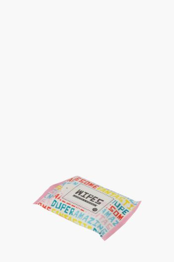 Pack Of 10 Script Wet Wipes