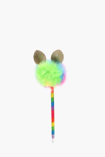 Fluffy Rainbow Bunny Pen